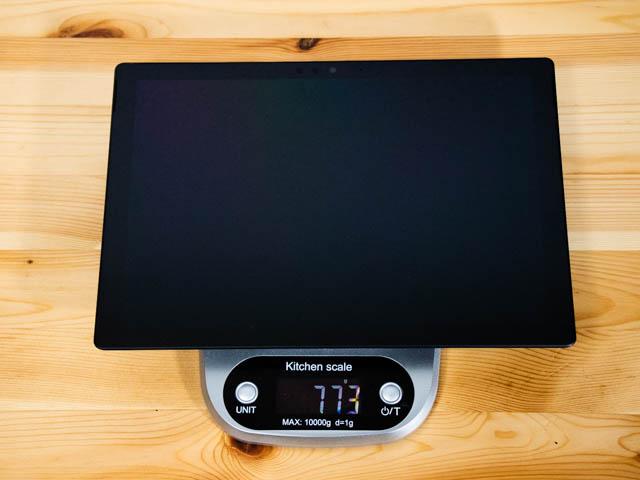 SurfacePro6 重量