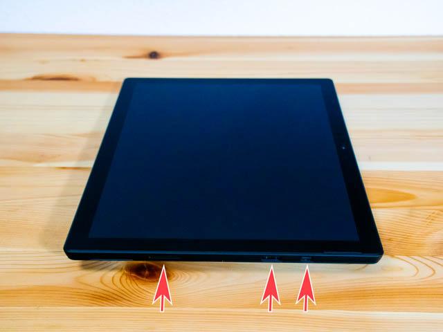 SurfacePro6 本体 右側面
