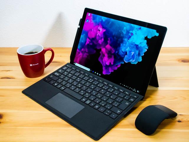 SurfacePro6 ラップトップモード