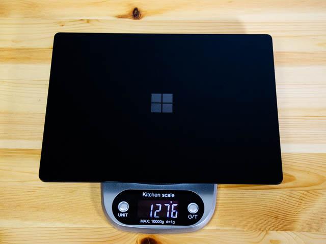 SurfaceLaptop2 重量