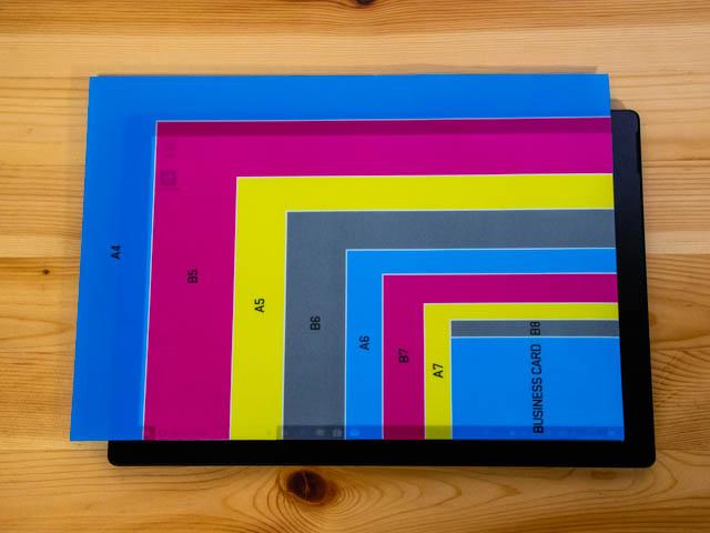 SurfacePro6 本体 画面サイズ