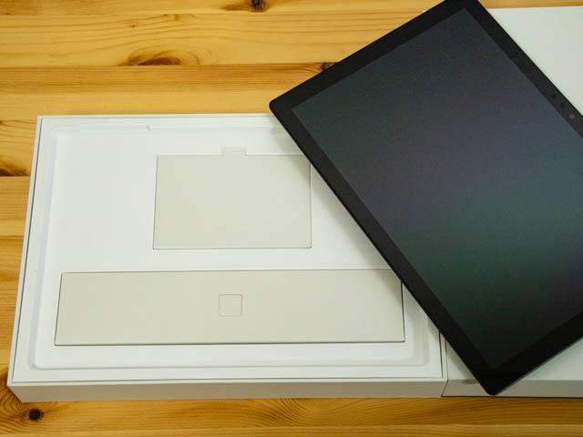 SurfacePro6 開封 同梱