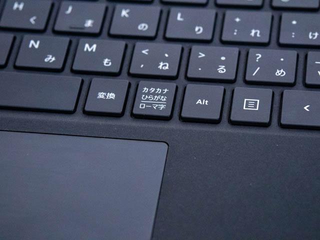 SurfacePro6 タイプカバー