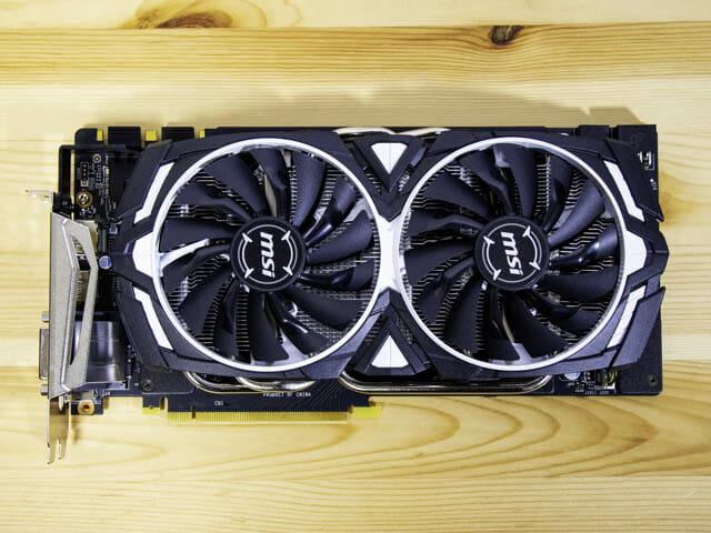 NVIDIA-GeForceシリーズ歴代GPUベンチマーク一覧表 グラボ-正面