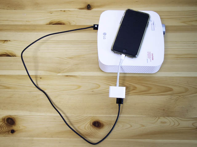 Fire-TV-Stick iPhone有線接続