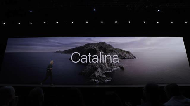 WWDC19 macOS-Catalina