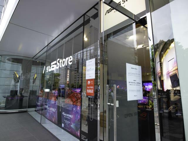 ASUS2019年ROG ASUS-Store-Akasaka外観