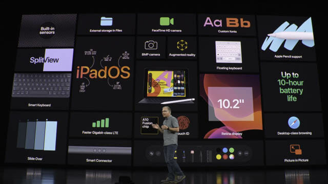 AppleEvent201909 iPad新機能