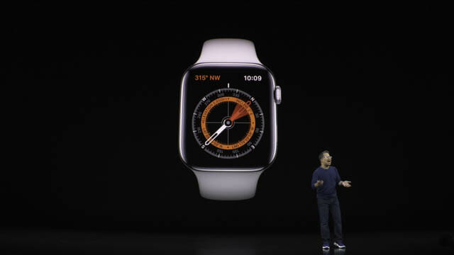 AppleEvent201909 AppleWatch5コンパス