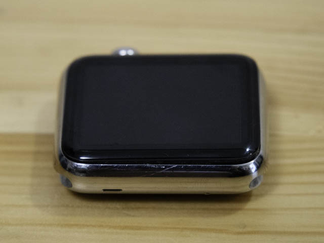 AppleWatch初代4年使用感 左側面