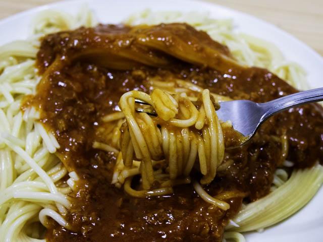 ショップジャパン-クッキングプロ ミートスパゲティ-実食