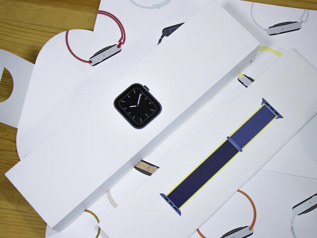 AppleWatchSeries5開封の儀 タイトル