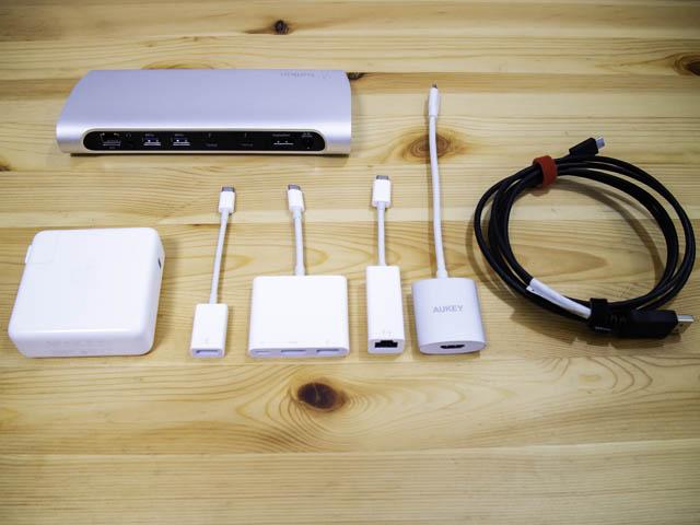 ASUS-ZenBookProDuo USB-Cアダプター