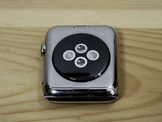 AppleWatch初代4年使用感 底面