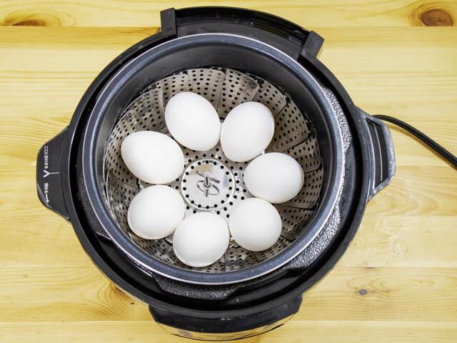 ショップジャパン-クッキングプロ ゆで卵-配置