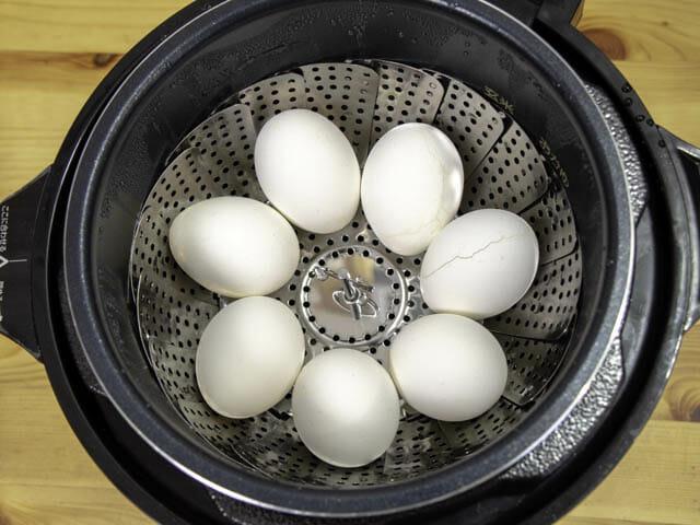 ショップジャパン-クッキングプロ ゆで卵-加圧完了