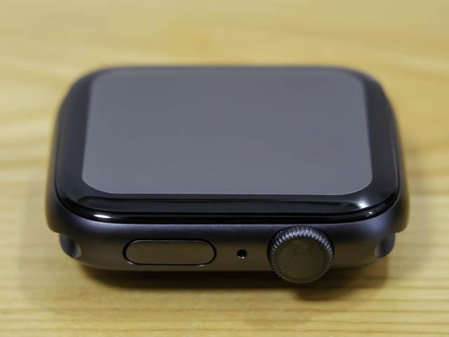 AppleWatchSeries保護ガラス 段差
