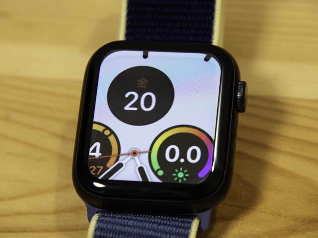 AppleWatchSeries5使用1か月 ズーム