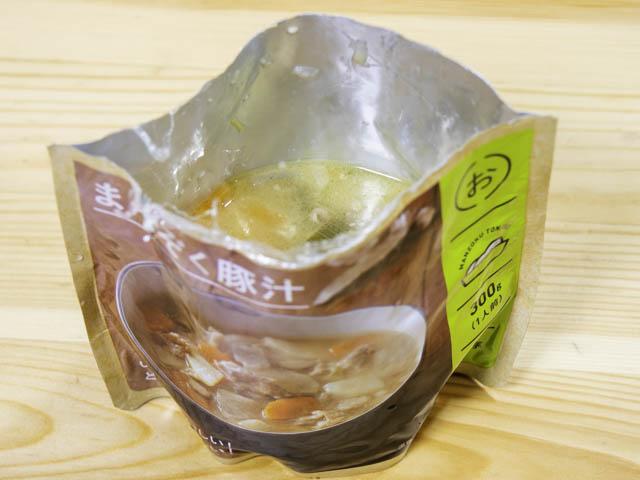 IZAMESHI(イザメシ) まんぞく豚汁-自立