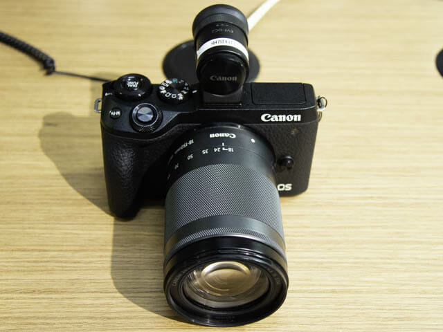 EOS-M6-Mark-II 正面