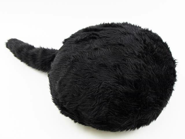 クッション型セラピーロボットQoobo(クーボ) 黒色シルキーブラック