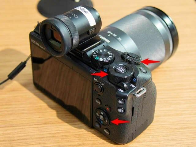 EOS-M6-Mark-II 操作ダイヤル