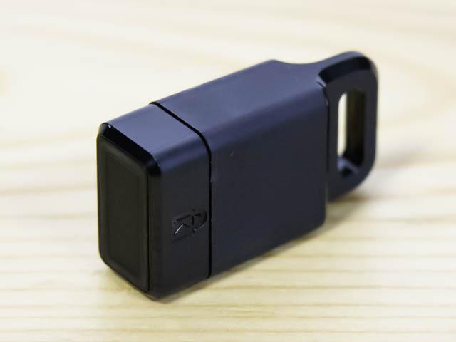 USB指紋認証キー キーリング