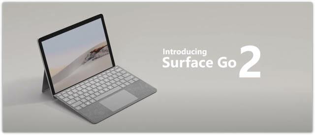 SurfaceGo2 ロゴ