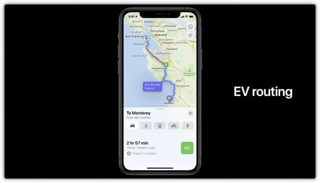 WWDC20 iOS14-マップ-EV