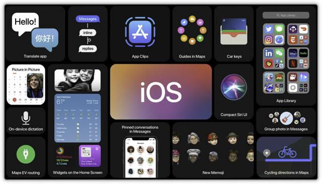 WWDC20 iOS14-アップデート一覧