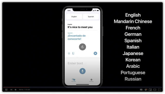 WWDC20 iOS14-翻訳