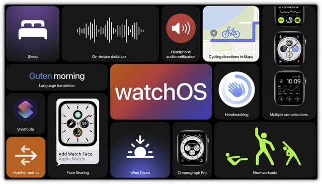 WWDC20 watchOS7-アップデート一覧