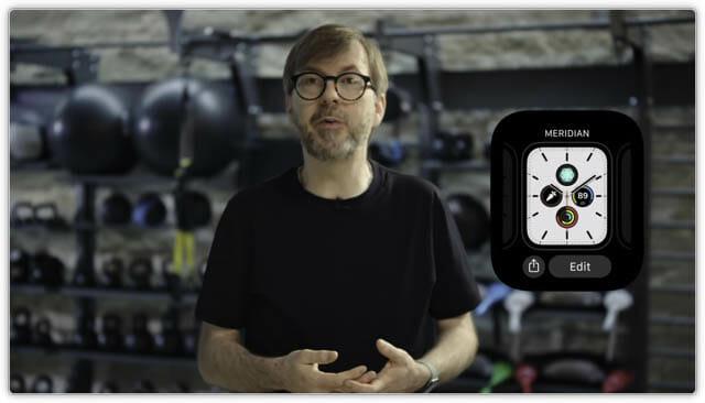 WWDC20 watchOS7-文字盤