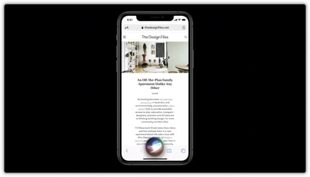 WWDC20 iOS14-Siri