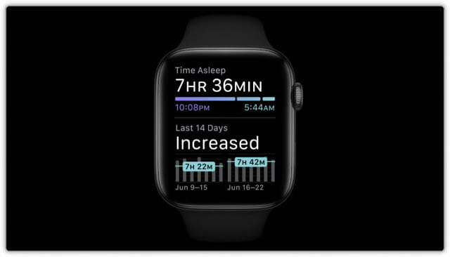 WWDC20 watchOS7-睡眠トラッキング