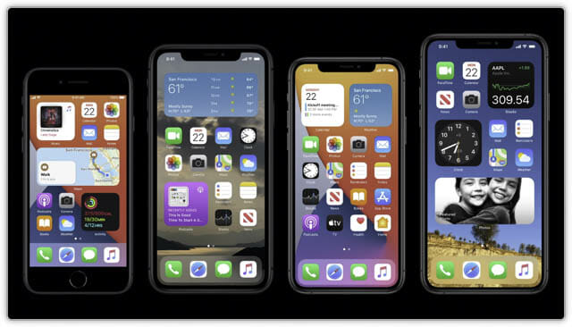 WWDC20 iOS14-ウィジェット