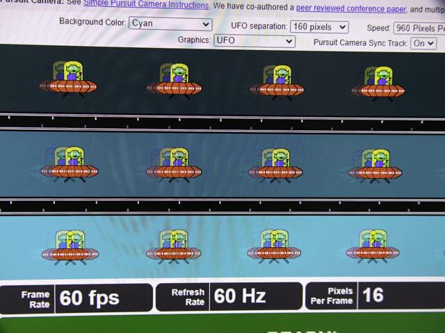 ディスプレイのサイズと解像度の選び方2 残像