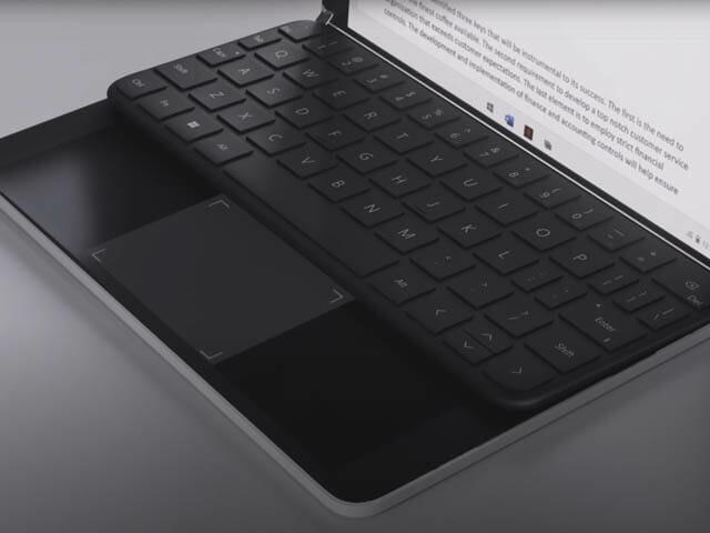 SurfaceNeoとは キーボード+タッチパッド
