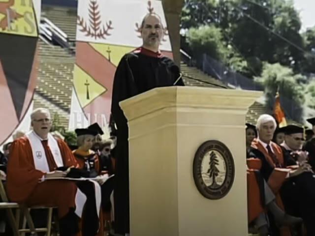 ポケトークS スティーブ・ジョブズ-スタンフォード大学卒業式