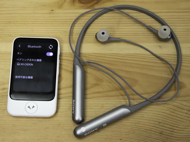 ポケトークS 写真 Bluetooth