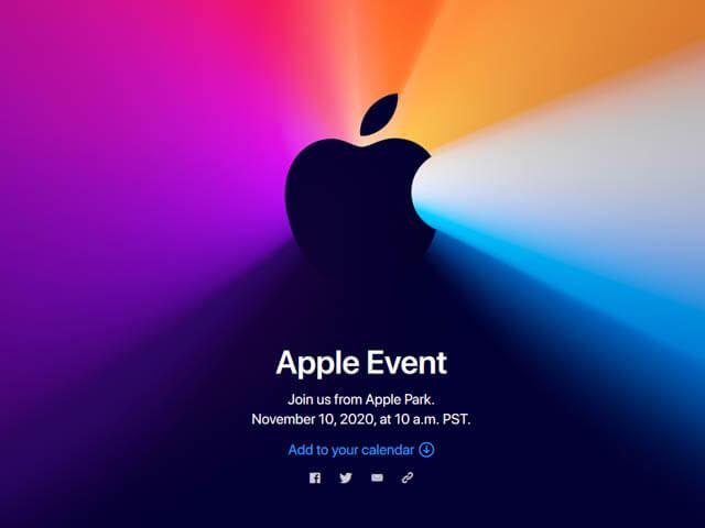 AppleEvent202011 タイトル
